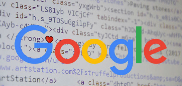 Google khong co thuat toan xep hang ty le code so voi luong text duoc hien thi.jpg